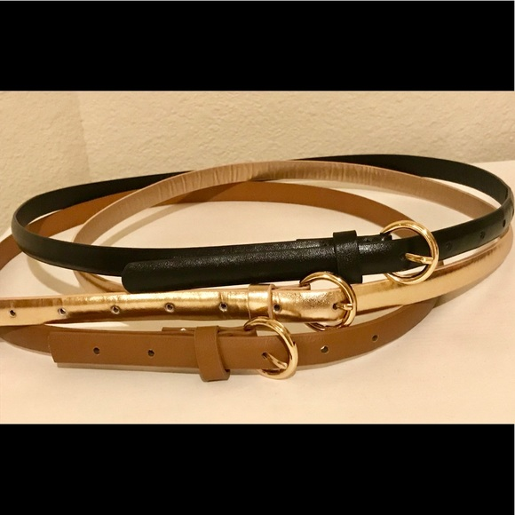 Charlotte Russe Accessories - Charlotte Russe Belt 3 Pack Never Worn